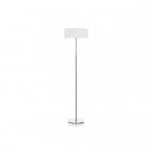 Торшер Ideal Lux Woody 143163 винтаж, белый, хром