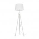 Торшер Ideal Lux York 121406 винтаж, белый, натуральный