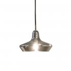 Люстра подвесная Ideal Lux Lido-3 168364 винтаж, дымчатый, дутое стекло