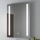 Смарт-зеркало с LED-подсветкой и часами Dusel DE-M1041 70х90