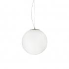 Люстра подвесная Ideal Lux Mapa 161365 модерн, белый, хром, дутое стекло