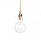 Люстра подвесная Ideal Lux Minimal 009391 минимализм, золото