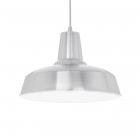 Люстра подвесная Ideal Lux Moby 102054 винтаж, алюминий, белый
