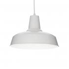 Люстра подвесная Ideal Lux Moby 102047 винтаж, белый