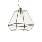 Люстра подвесная Ideal Lux Orangerie 160085 ретро, бронзовый