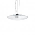 Люстра подвесная Ideal Lux Smarties 035529 хай-тек, прозрачный, пескоструйное стекло