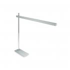 Настольная лампа на гибкой ножке Ideal Lux Gru 147635 авангард, алюминий, пластик, хром