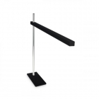 Настольная лампа на гибкой ножке Ideal Lux Gru 147659 авангард, черный, пластик, хром