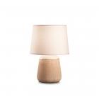 Настольная лампа Ideal Lux Kali 245331 опаловый белый, пластик