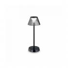 Настольная лампа уличная влагостойкая Ideal Lux Lolita 250274 современный, черный, пластик