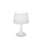 Настольная лампа Ideal Lux London 110530 классика, белый, текстиль