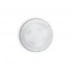 Светильник потолочный Ideal Lux Dony 020891 модерн, прозрачный, белый, окисленное стекло