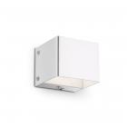 Настенный светильник Ideal Lux Flash 095264 минимализм, белый, металл