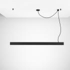 Подвесной потолочный светильник Chors Accent Z 150 N PR 4000K в цвете, с рассеивателем Prism
