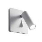Светильник настенный спот Ideal Lux Lite 250106 модерн, белый, металл