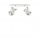 Светильник настенно-потолочный спот Ideal Lux Lunare 077895 хай-тек, белый, металл