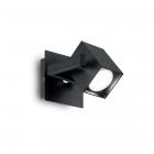 Светильник настенный спот Ideal Lux Mouse 073569 хай-тек, черный матовый
