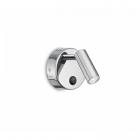 Светильник настенный спот Ideal Lux Page 233659 хай-тек, хром, литой алюминий