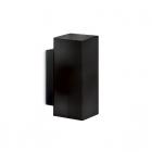 Настенный светильник Ideal Lux Paul 231143 современный, черный, окисленное стекло