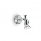 Светильник настенный спот Ideal Lux Slem 018829 хай-тек, сатиновый никель