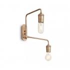 Настенный светильник Ideal Lux Triumph 160245 модерн, золото, металл