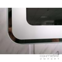Зеркало с LED подсветкой 60x80 см Vito VT-8060 с подогревом и сенсорным включением