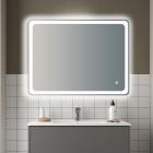 Зеркало с LED подсветкой 80x60 см Vito VT-8060 с подогревом и сенсорным включением