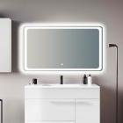 Зеркало с LED подсветкой 100x60 см Vito VT-10060 с подогревом и сенсорным включением