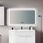Зеркало с LED подсветкой 100x60 см Vito VT-10060S с подогревом и Smart управлением