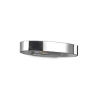 Настенный светильник Ideal Lux Zed 115160 современный, хром, металл