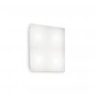 Светильник потолочный Ideal Lux Flat 134888 хай-тек, белый матовый, акрил