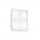 Светильник потолочный Ideal Lux Flat 134895 хай-тек, белый матовый, акрил