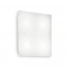 Светильник потолочный Ideal Lux Flat 134901 хай-тек, белый матовый, акрил