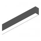 Светильник потолочный Ideal Lux Fluo 191997 хай-тек, черный, алюминий