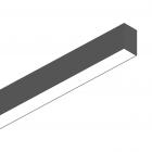 Светильник потолочный Ideal Lux Fluo 192567 хай-тек, черный, алюминий
