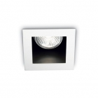 Светильник точечный встраиваемый Ideal Lux Funky 083230 металл, белый