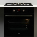 Встраиваемый электрический духовой шкаф с конвекцией Fabiano FBO 240 Lux Black черный