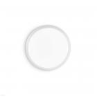 Настенный светильник Ideal Lux Gemma 252599 хай-тек, белый, матовый, пластик