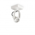Светильник потолочный спот Ideal Lux Glim 244662 хай-тек, белый, металл