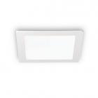 Светильник точечный встраиваемый Ideal Lux Groove 123981 белый