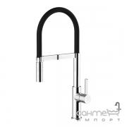 Смеситель для кухни с изливом для фильтрованной воды Imprese Boa 55901 хром, черный