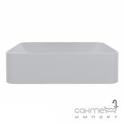 Раковина на столешницу из литого мрамора Miraggio Debora 500х350 00118602 белый матовый