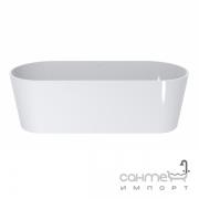 Ванна отдельностоящая из литого мрамора Miraggio Providence 1700х700 00318101 белый глянцевый
