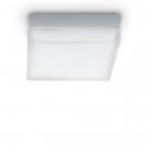 Светильник потолочный Ideal Lux Iris 104546 современный, хром, окисленное стекло, металл
