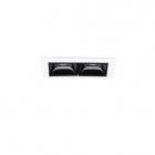Светильник точечный встраиваемый модуль Ideal Lux Lika 206196 белый, черный, алюминий