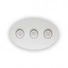 Светильник потолочный Ideal Lux Logos 175768 хай-тек, белый, металл