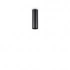 Светильник точечный накладной Ideal Lux Look 233062 черный, алюминий