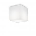 Светильник потолочный влагостойкий Ideal Lux Luna 213194 хай-тек, белый, пластик