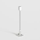 Комплект потолочной подвески для трековой системы Astro Lighting Track Suspension Kit Белый/Черный