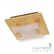 Светильник точечный Eglo Vicaro 1 97757 арт-деко, сталь, матовое стекло, золото, белый, прозрачный